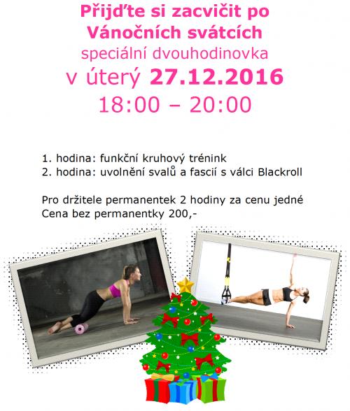 cvičení po vánocích
